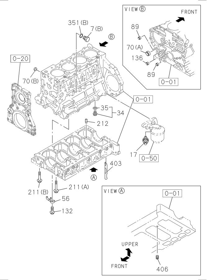 2011 Isuzu Nrr Gasket  Prod  Eng  Engine